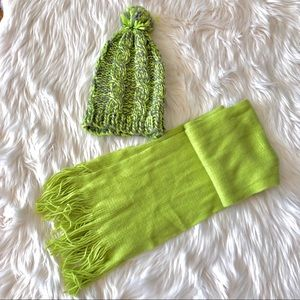 🚚NWOT LOFT Cashmere Scarf with matching wool hat